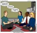 mindfulness cartoon